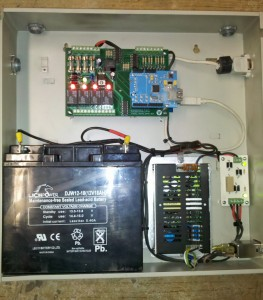 Installation with UPS board