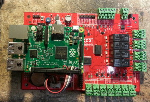 Latest Open Access board with Raspi v2